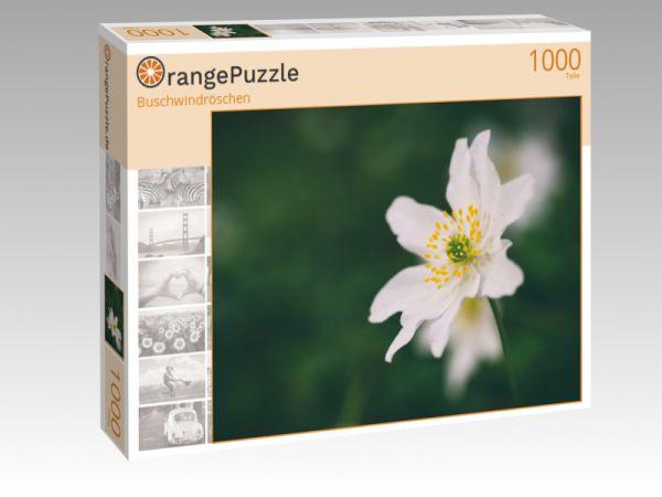 """Puzzle Motiv """"Buschwindröschen"""" - Puzzle-Schachtel zu 1000 Teile Puzzle"""