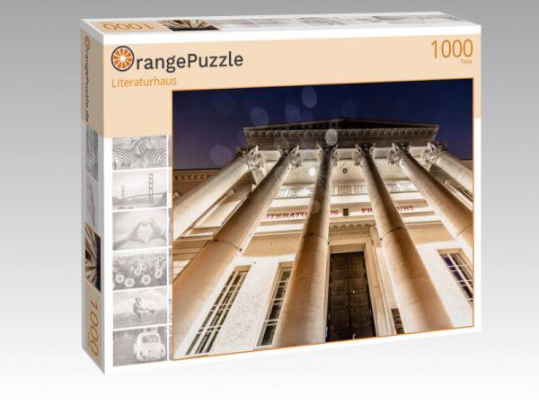 """Puzzle Motiv """"Literaturhaus"""" - Puzzle-Schachtel zu 1000 Teile Puzzle"""