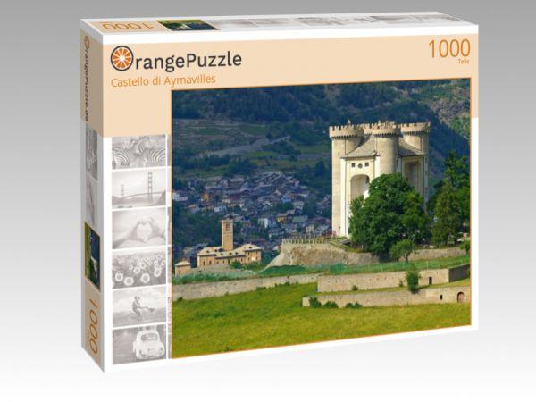 """Puzzle Motiv """"Castello di Aymavilles"""" - Puzzle-Schachtel zu 1000 Teile Puzzle"""