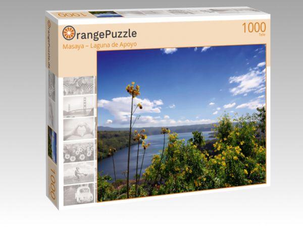 "Puzzle Motiv ""Masaya – Laguna de Apoyo"" - Puzzle-Schachtel zu 1000 Teile Puzzle"