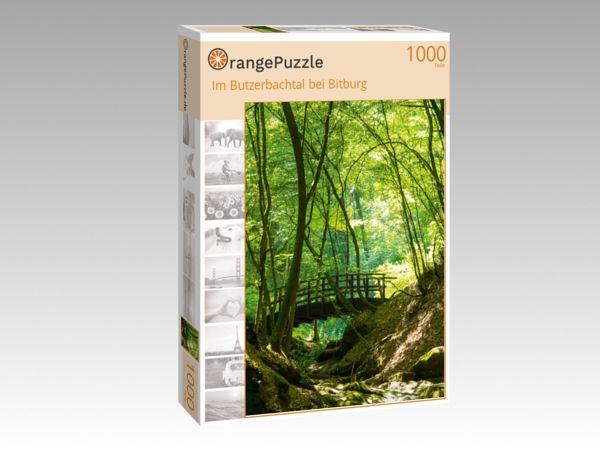 "Puzzle Motiv ""Im Butzerbachtal bei Bitburg"" - Puzzle-Schachtel zu 1000 Teile Puzzle"