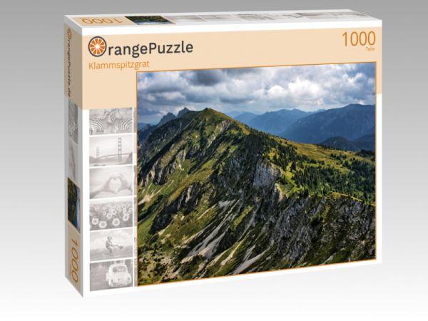"""Puzzle Motiv """"Klammspitzgrat"""" - Puzzle-Schachtel zu 1000 Teile Puzzle"""