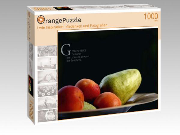 """Puzzle Motiv """"i wie Inspiration - Gedanken und Fotografien"""" - Puzzle-Schachtel zu 1000 Teile Puzzle"""