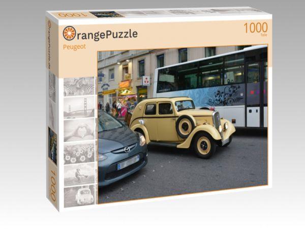 """Puzzle Motiv """"Peugeot"""" - Puzzle-Schachtel zu 1000 Teile Puzzle"""
