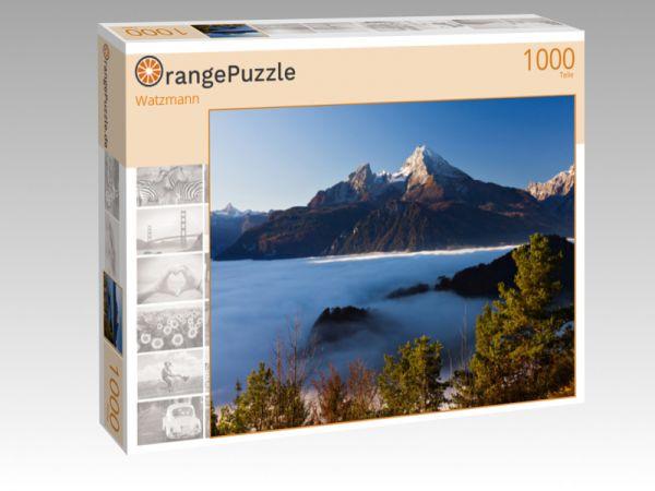 """Puzzle Motiv """"Watzmann"""" - Puzzle-Schachtel zu 1000 Teile Puzzle"""