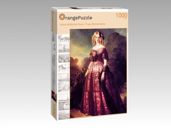 """Puzzle Motiv """"Maria de Borleó Dues / Franz Winterhalter"""" - Puzzle-Schachtel zu 1000 Teile Puzzle"""