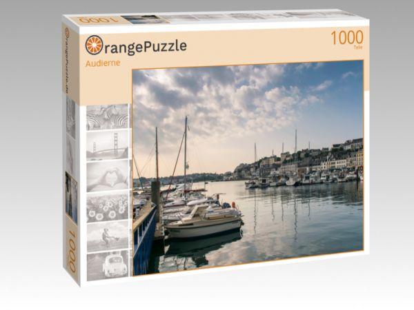 """Puzzle Motiv """"Audierne"""" - Puzzle-Schachtel zu 1000 Teile Puzzle"""