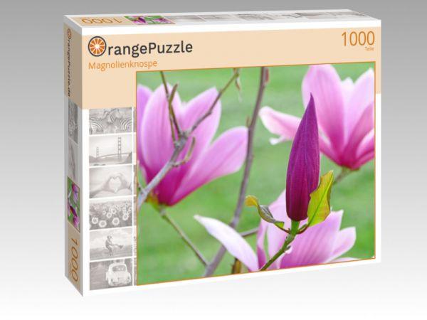 """Puzzle Motiv """"Magnolienknospe"""" - Puzzle-Schachtel zu 1000 Teile Puzzle"""