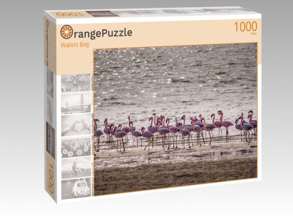 """Puzzle Motiv """"Walvis Bay"""" - Puzzle-Schachtel zu 1000 Teile Puzzle"""