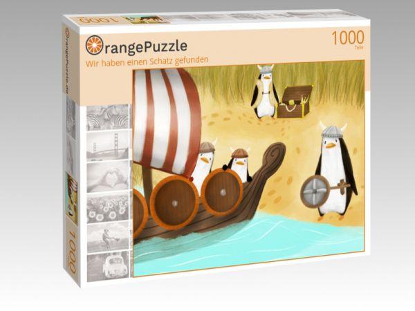"""Puzzle Motiv """"Wir haben einen Schatz gefunden"""" - Puzzle-Schachtel zu 1000 Teile Puzzle"""