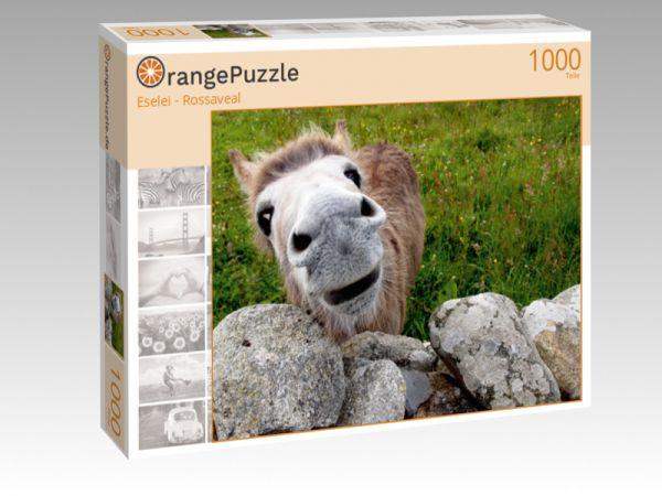 """Puzzle Motiv """"Eselei - Rossaveal"""" - Puzzle-Schachtel zu 1000 Teile Puzzle"""