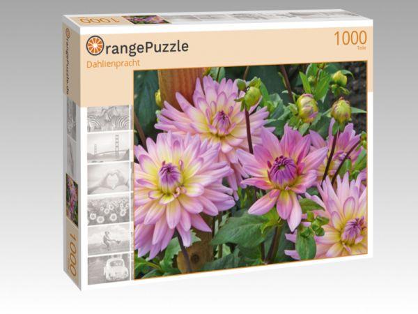 """Puzzle Motiv """"Dahlienpracht"""" - Puzzle-Schachtel zu 1000 Teile Puzzle"""