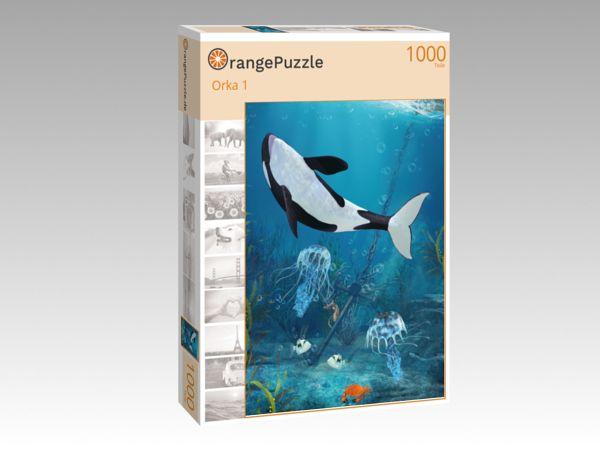 """Puzzle Motiv """"Orka 1"""" - Puzzle-Schachtel zu 1000 Teile Puzzle"""