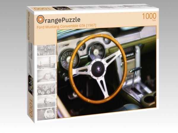 "Puzzle Motiv ""Ford Mustang Convertible GTA [1967]"" - Puzzle-Schachtel zu 1000 Teile Puzzle"