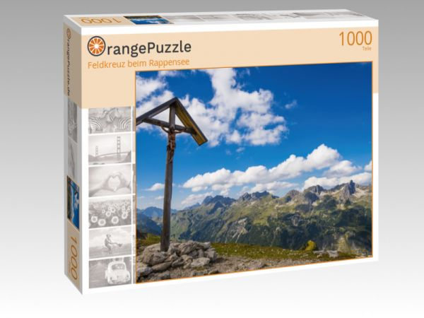 "Puzzle Motiv ""Feldkreuz beim Rappensee"" - Puzzle-Schachtel zu 1000 Teile Puzzle"
