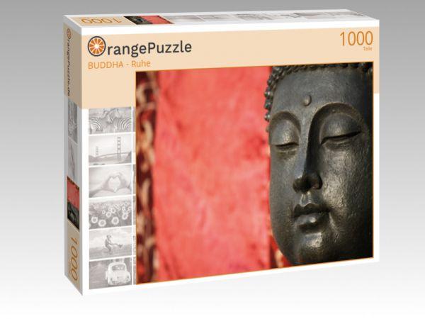 """Puzzle Motiv """"BUDDHA - Ruhe"""" - Puzzle-Schachtel zu 1000 Teile Puzzle"""