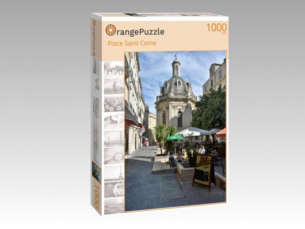 """Puzzle Motiv """"Place Saint Come"""" - Puzzle-Schachtel zu 1000 Teile Puzzle"""