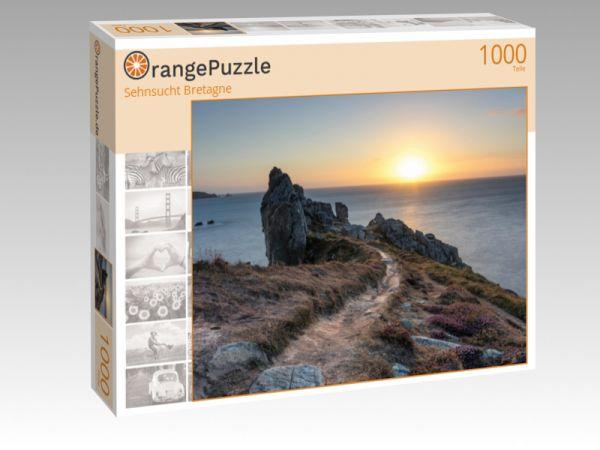 """Puzzle Motiv """"Sehnsucht Bretagne"""" - Puzzle-Schachtel zu 1000 Teile Puzzle"""