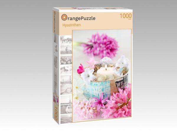 """Puzzle Motiv """"Hyazinthen"""" - Puzzle-Schachtel zu 1000 Teile Puzzle"""