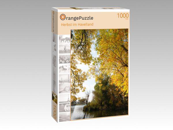 """Puzzle Motiv """"Herbst im Havelland"""" - Puzzle-Schachtel zu 1000 Teile Puzzle"""