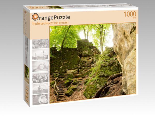 """Puzzle Motiv """"Teufelsschlucht bei Ernzen"""" - Puzzle-Schachtel zu 1000 Teile Puzzle"""
