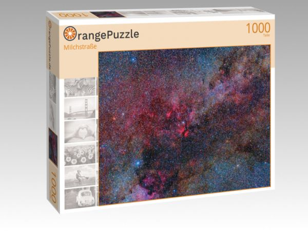 "Puzzle Motiv ""Milchstraße"" - Puzzle-Schachtel zu 1000 Teile Puzzle"