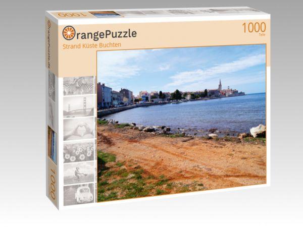 """Puzzle Motiv """"Strand Küste Buchten"""" - Puzzle-Schachtel zu 1000 Teile Puzzle"""