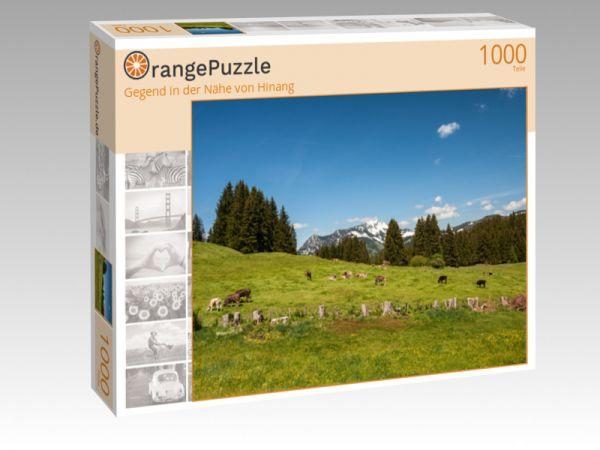"""Puzzle Motiv """"Gegend in der Nähe von Hinang"""" - Puzzle-Schachtel zu 1000 Teile Puzzle"""