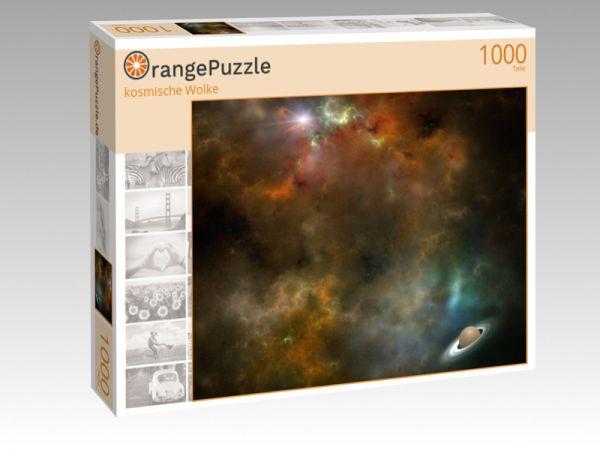 """Puzzle Motiv """"kosmische Wolke"""" - Puzzle-Schachtel zu 1000 Teile Puzzle"""