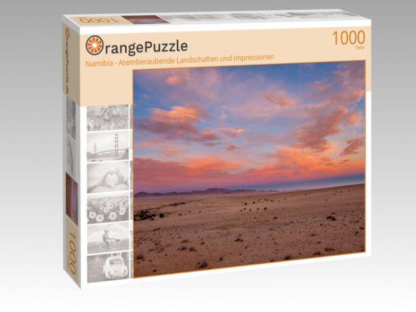 """Puzzle Motiv """"Namibia - Atemberaubende Landschaften und Impressionen"""" - Puzzle-Schachtel zu 1000 Teile Puzzle"""