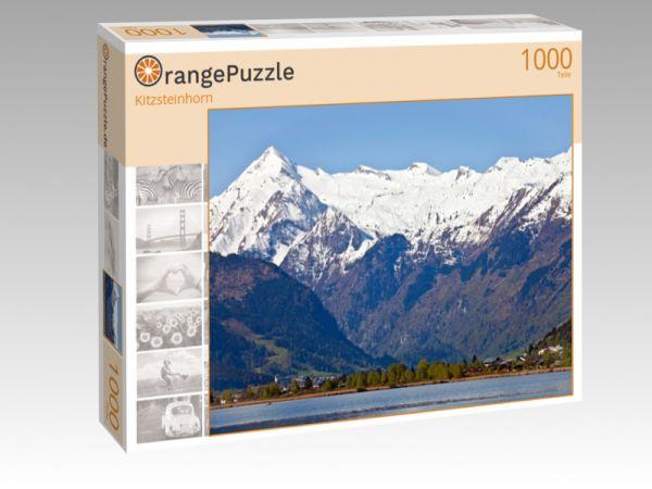 "Puzzle Motiv ""Kitzsteinhorn"" - Puzzle-Schachtel zu 1000 Teile Puzzle"