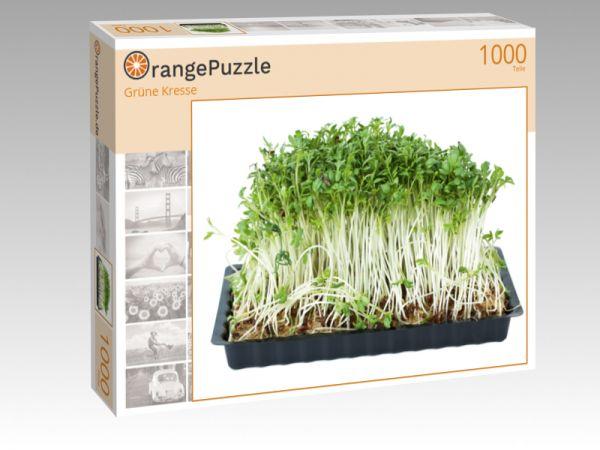 """Puzzle Motiv """"Grüne Kresse"""" - Puzzle-Schachtel zu 1000 Teile Puzzle"""
