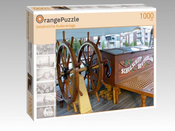 """Puzzle Motiv """"Detailreiche Ruderanlage"""" - Puzzle-Schachtel zu 1000 Teile Puzzle"""