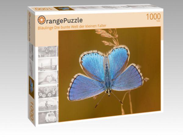 """Puzzle Motiv """"Bläulinge Die bunte Welt der kleinen Falter"""" - Puzzle-Schachtel zu 1000 Teile Puzzle"""