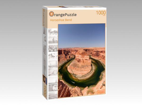 """Puzzle Motiv """"Horseshoe Bend"""" - Puzzle-Schachtel zu 1000 Teile Puzzle"""