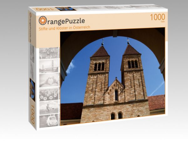 """Puzzle Motiv """"""""Stifte und Klöster in Österreich"""""""" - Puzzle-Schachtel zu 1000 Teile Puzzle"""