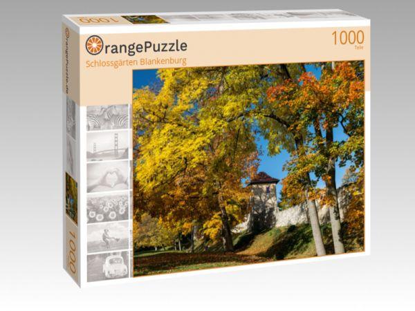 """Puzzle Motiv """"Schlossgärten Blankenburg"""" - Puzzle-Schachtel zu 1000 Teile Puzzle"""