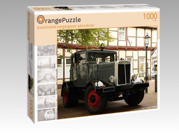 """Puzzle Motiv """"Automobile vergangener Jahrzehnte"""" - Puzzle-Schachtel zu 1000 Teile Puzzle"""