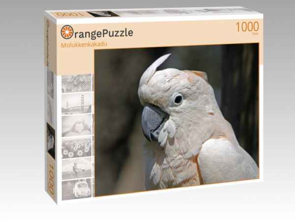 "Puzzle Motiv ""Molukkenkakadu"" - Puzzle-Schachtel zu 1000 Teile Puzzle"