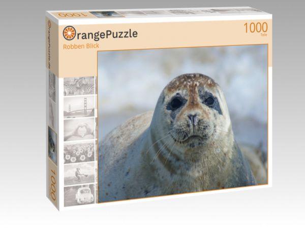 """Puzzle Motiv """"Robben Blick"""" - Puzzle-Schachtel zu 1000 Teile Puzzle"""