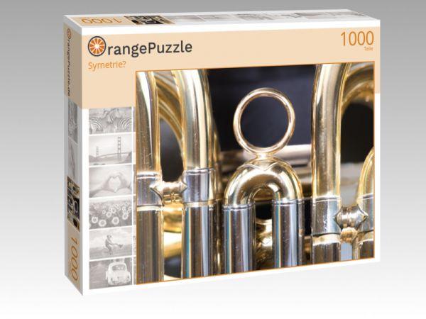 """Puzzle Motiv """"Symetrie?"""" - Puzzle-Schachtel zu 1000 Teile Puzzle"""