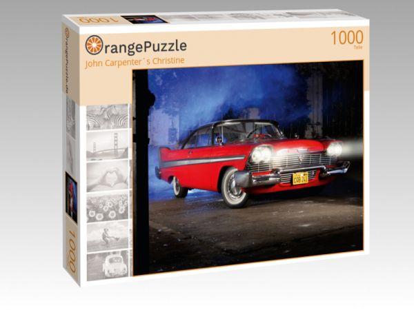 """Puzzle Motiv """"John Carpenter´s Christine"""" - Puzzle-Schachtel zu 1000 Teile Puzzle"""