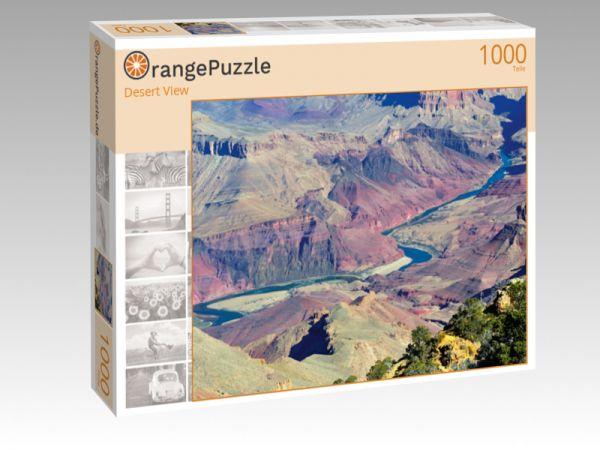 """Puzzle Motiv """"Desert View"""" - Puzzle-Schachtel zu 1000 Teile Puzzle"""