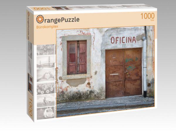"""Puzzle Motiv """"Bürokomplex"""" - Puzzle-Schachtel zu 1000 Teile Puzzle"""