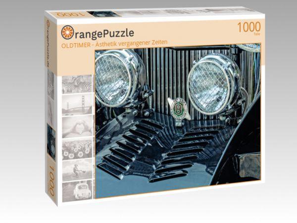 """Puzzle Motiv """"OLDTIMER - Ästhetik vergangener Zeiten"""" - Puzzle-Schachtel zu 1000 Teile Puzzle"""