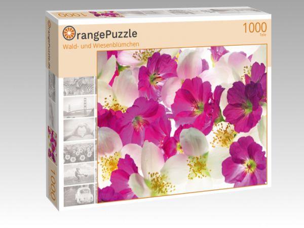 """Puzzle Motiv """"Wald- und Wiesenblümchen"""" - Puzzle-Schachtel zu 1000 Teile Puzzle"""