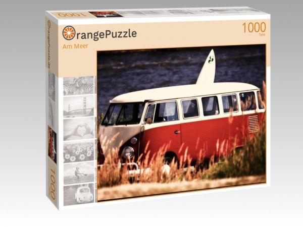 """Puzzle Motiv """"Am Meer"""" - Puzzle-Schachtel zu 1000 Teile Puzzle"""
