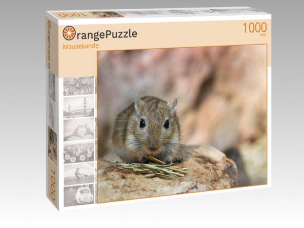 """Puzzle Motiv """"Mausebande"""" - Puzzle-Schachtel zu 1000 Teile Puzzle"""