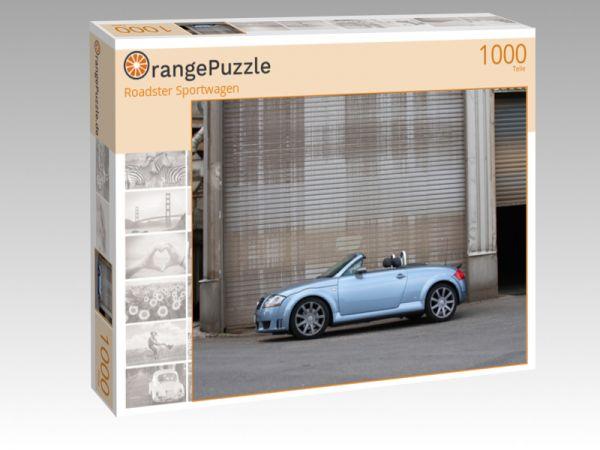 """Puzzle Motiv """"Roadster Sportwagen"""" - Puzzle-Schachtel zu 1000 Teile Puzzle"""