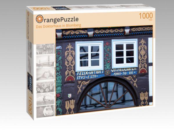 "Puzzle Motiv ""Das Doktorhaus in Blomberg"" - Puzzle-Schachtel zu 1000 Teile Puzzle"